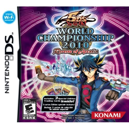Image 0 of Yu-Gi-Oh! 5D'S World Championship 2010 Reverse Of Arcadia For Nintendo DS DSi 3D