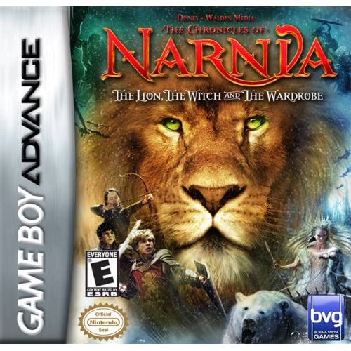 Chronicles Of Narnia: The Lion The Witch And Wardrobe GBA For GBA Gameboy Advanc
