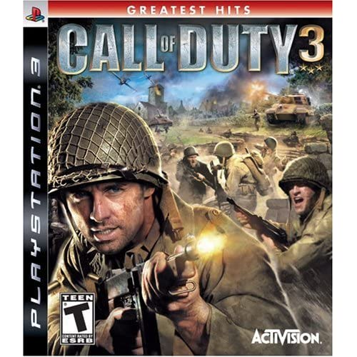 Call Of Duty 3 For PlayStation 3 PS3 COD Shooter