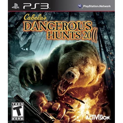 Image 0 of Cabela's Dangerous Hunts 2011 For PlayStation 3 PS3 Shooter