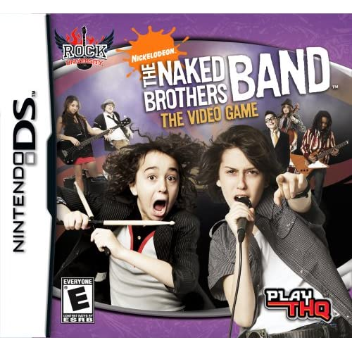 Naked Brothers Band For Nintendo DS DSi 3DS 2DS