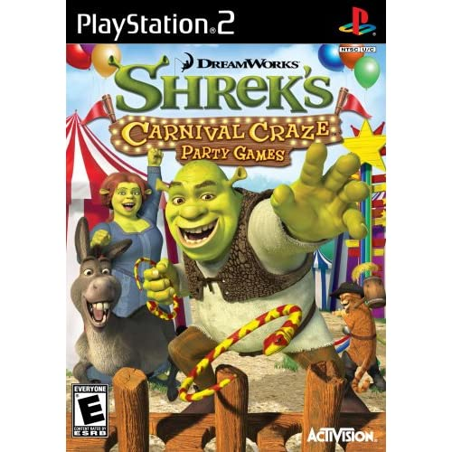 Image 0 of Shrek's Carnival Craze For PlayStation 2 PS2 Puzzle