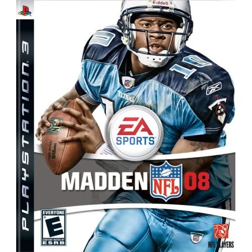 Madden NFL 08 For PlayStation 3 PS3 Football