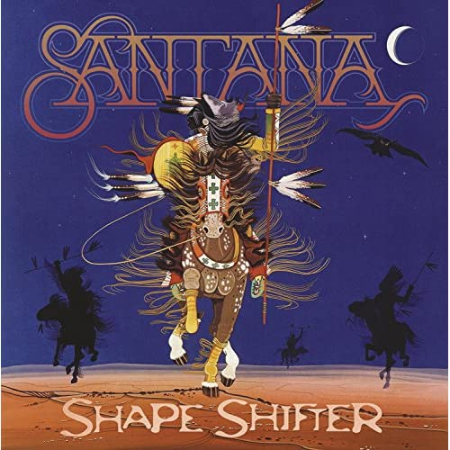Shape Shifter By Santana On Vinyl Record