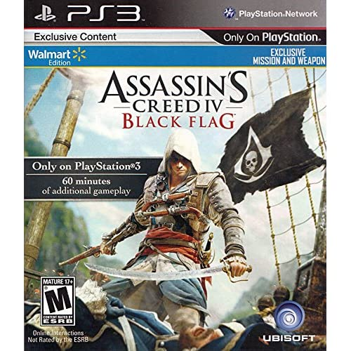 Assasin's Creed 4 Black Flag For PlayStation 3 PS3
