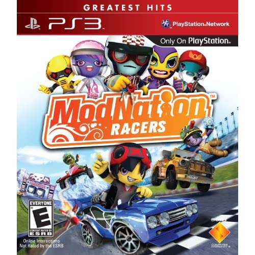 Modnation Racers PLAYSTATION3 Greatest Hits For PlayStation 3 PS3