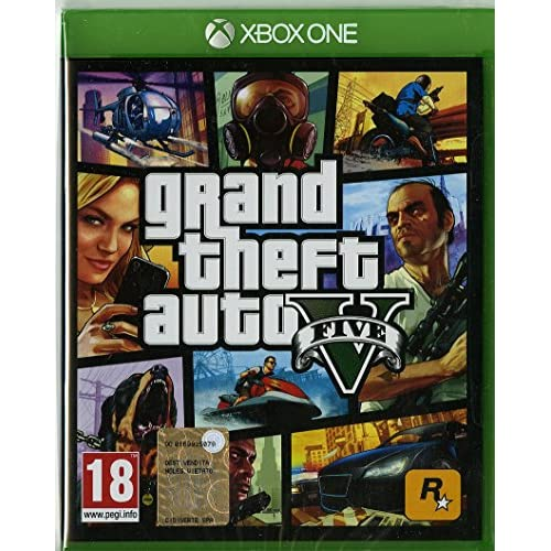 Image 0 of Grand Theft Auto V GTA 5 Game For Xbox One