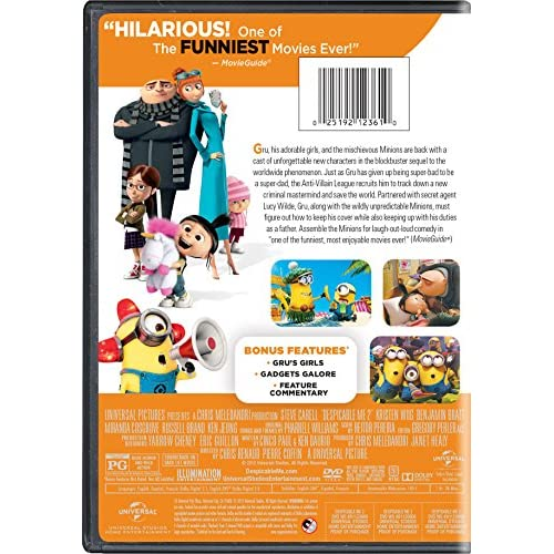 Image 3 of Despicable Me 2 On DVD With Steve Carell