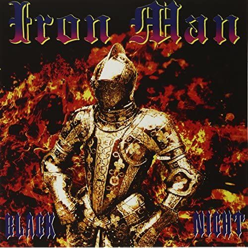 Black Night By Iron Man On Vinyl Record