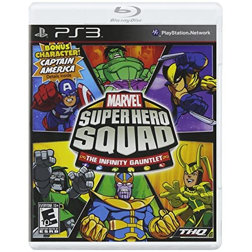 Image 0 of Marvel Super Hero Squad: The Infinity Gauntlet For PlayStation 3 PS3 Fighting