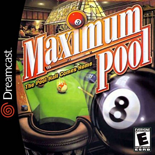 Maximum Pool For Sega Dreamcast With Manual and Case