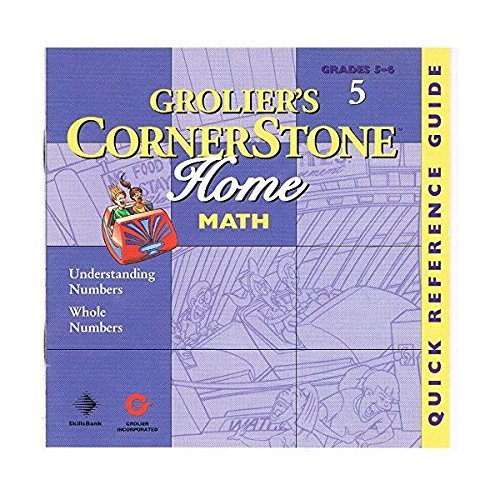 Image 0 of Groliers Cornerstone Home Math Grades 5-6 Vol 6 Decimals Fractions And Percentag