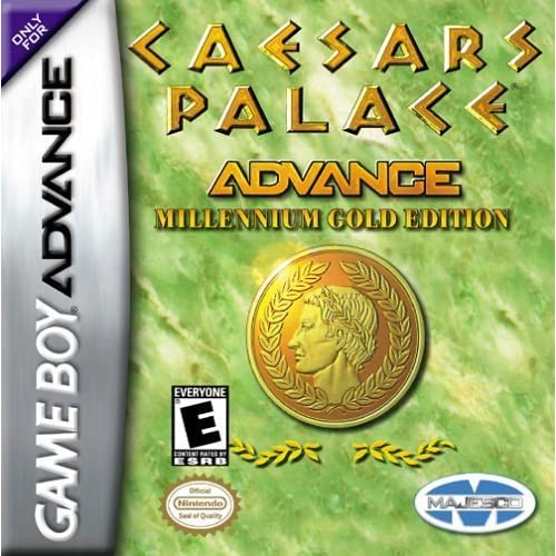 Image 0 of Caesars Palace Game Boy Advance For GBA Gameboy Advance