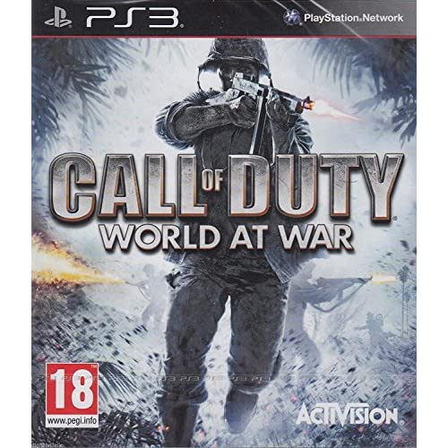 Call Of Duty World At War PS3 For PlayStation 3 COD