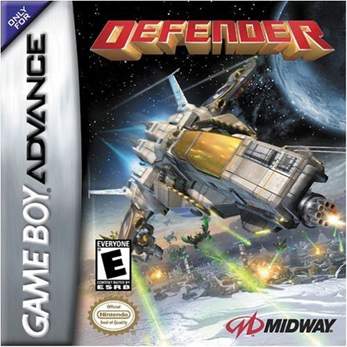 Defender For GBA Gameboy Advance Shooter
