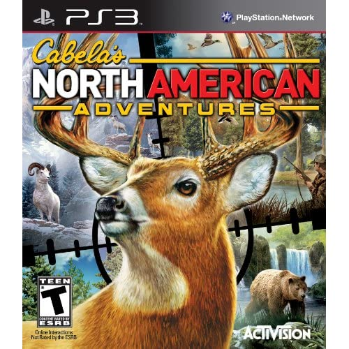 Image 0 of Cabela's North American Adventures 2011 For PlayStation 3 PS3 Shooter