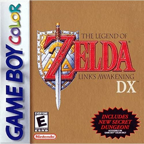 The Legend Of Zelda: Link's Awakening DX On Gameboy Color