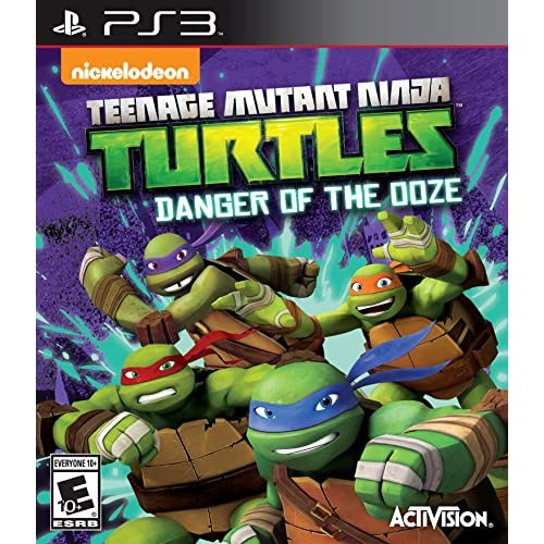 Teenage Mutant Ninja Turtles: Danger Of The Ooze For PlayStation 3 PS3