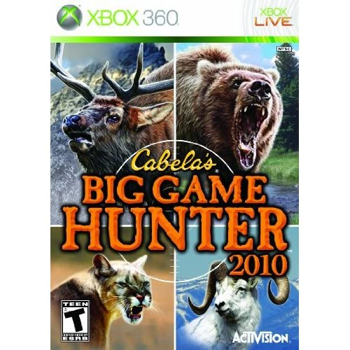 Hunting Games For Xbox 360 : Cabela s big game hunter only for xbox shooter