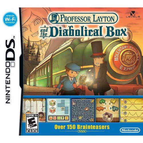 Image 0 of Professor Layton And The Diabolical Box For Nintendo DS DSi 3DS 2DS Strategy