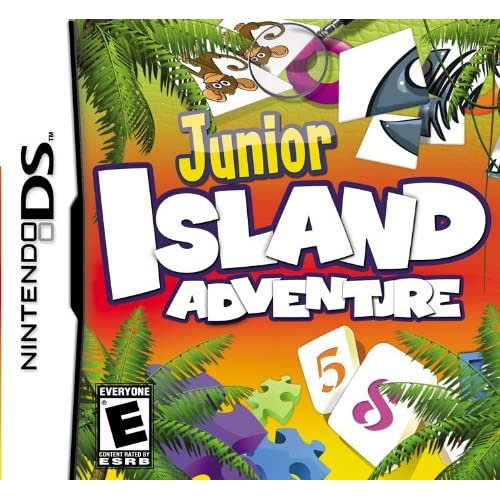 Image 0 of Junior Island Adventure For Nintendo DS DSi 3DS 2DS Puzzle