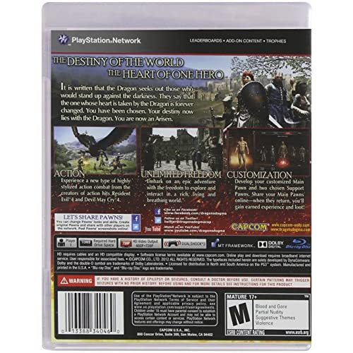Image 2 of Dragon's Dogma For PlayStation 3 PS3