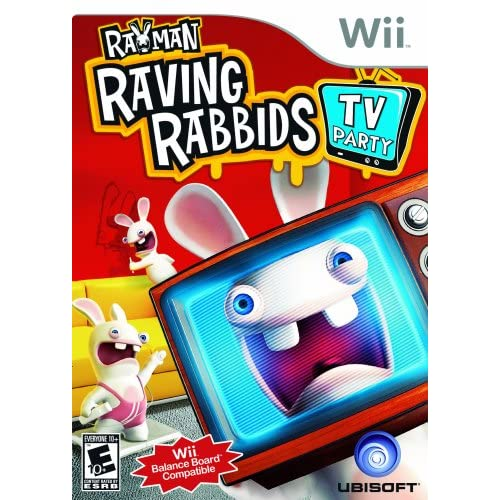 Image 0 of Rayman Raving Rabbids TV Party For Wii And Wii U