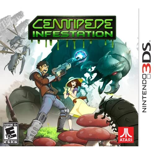 Centipede: Infestation Nintendo For 3DS Arcade With Manual and Case
