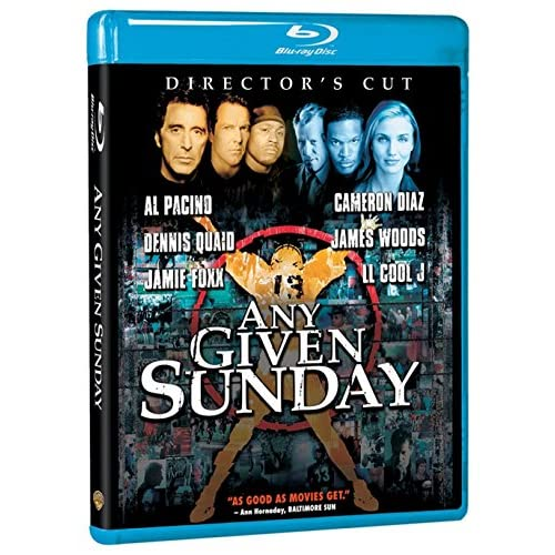 Image 0 of Any Given Sunday Director's Cut Blu-Ray On Blu-Ray With Ann-Margret Drama