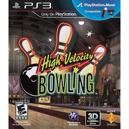 High Velocity Bowling Motion Control For PlayStation 3 PS3