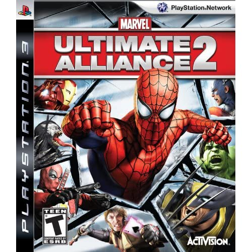 Image 0 of Marvel Ultimate Alliance 2 For PlayStation 3 PS3 RPG