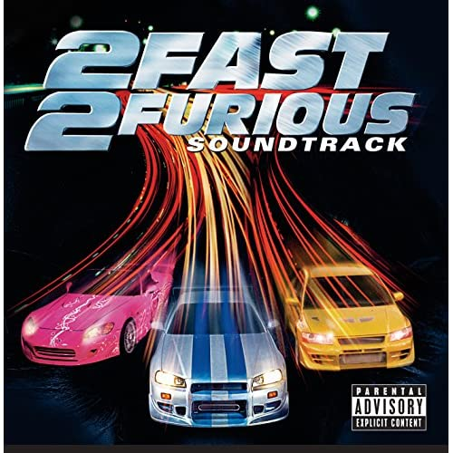 2 Fast 2 Furious On Audio CD Album 2003