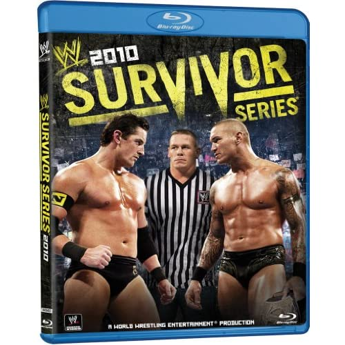 WWE: Survivor Series 2010 Blu-Ray On Blu-Ray With Randy Orton