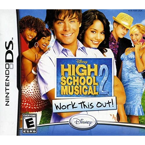 High School Musical 2: Work This Out For Nintendo DS DSi 3DS 2DS