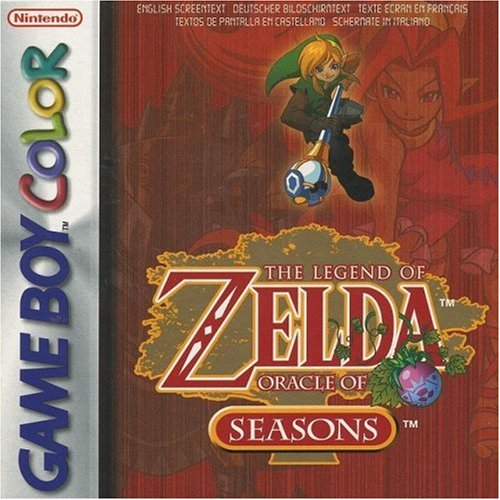 The Legend Of Zelda: Oracle Of Seasons On Gameboy Color