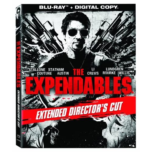 Image 0 of The Expendables Extended Director's Cut Blu-Ray On Blu-Ray With Sylvester Stallo