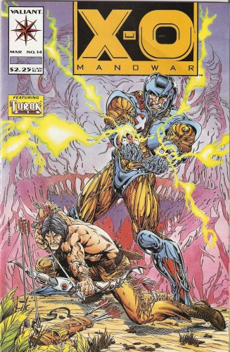 Image 0 of XO Manowar #14 March 1993 Comic Book