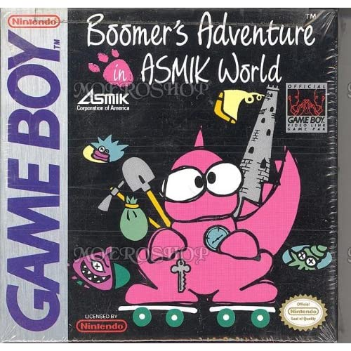 Boomers Adventure In Asmik World On Gameboy Color