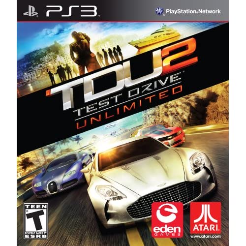 Test Drive Unlimited 2 For PlayStation 3 PS3 Racing