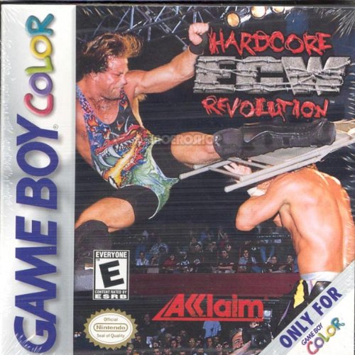 ECW: Hardcore Revolution On Gameboy Color