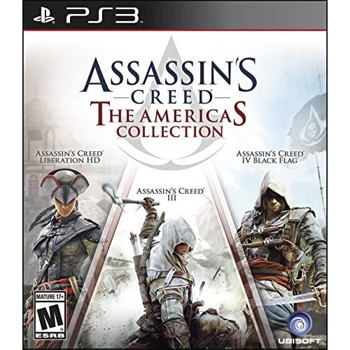 Image 0 of Assassin's Creed: The Americas Collection Standard Edition For PlayStation 3 PS3