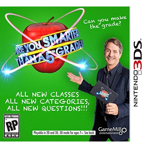 Are You Smarter Than A 5th Grader Nintendo For 3DS Trivia