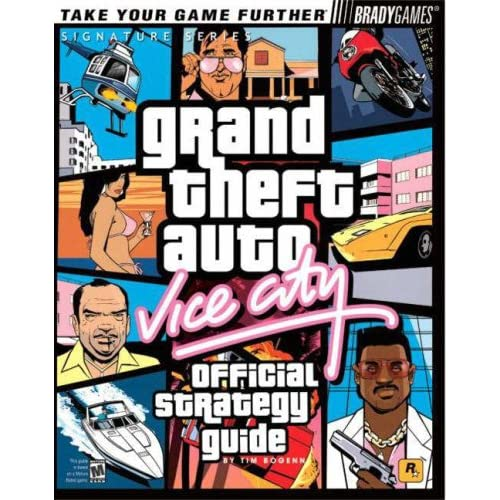 Grand Theft Auto: Vice City Official Strategy Guide Bradygames