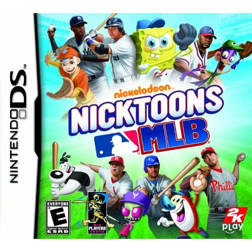 Image 0 of Nicktoons MLB Nintendo For DS Baseball