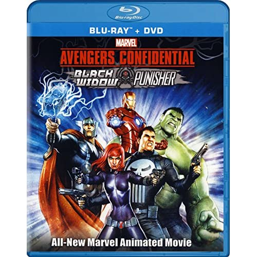 Avengers Confidential: Black Widow And Punisher Blu-Ray On Blu-Ray With John Ben