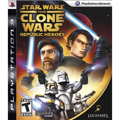 Image 0 of Star Wars The Clone Wars: Republic Heroes For PlayStation 3 PS3