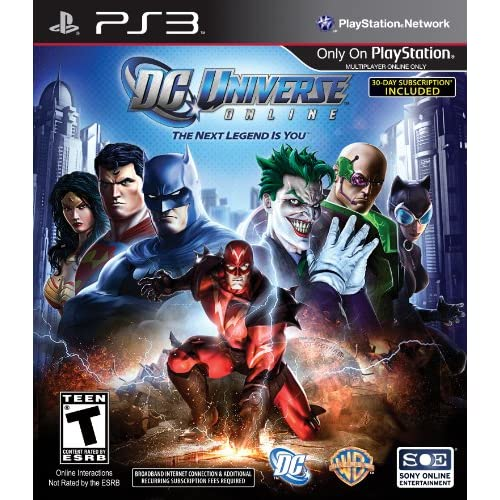 Image 0 of DC Universe Online For PlayStation 3 PS3