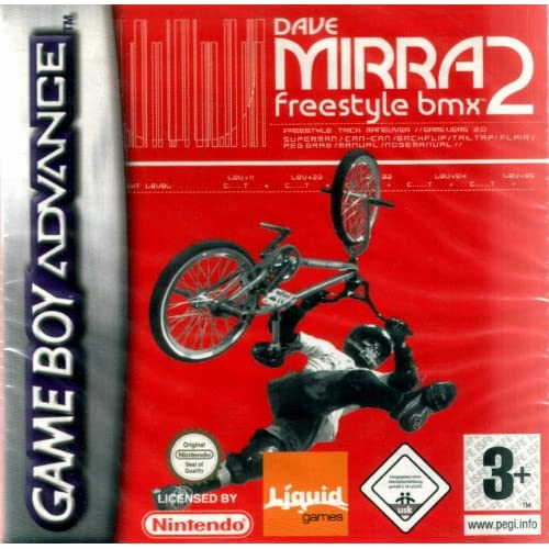 Image 0 of Dave Mirra BMX 2 GBA For GBA Gameboy Advance Racing