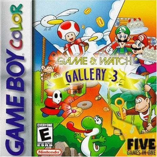 Game And Watch Gallery 3 On Gameboy Color Arcade