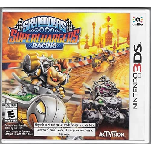 Skylanders Superchargers Standalone Game Only For 3DS Racing